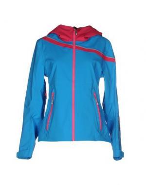 Куртка VUARNET. Цвет: лазурный