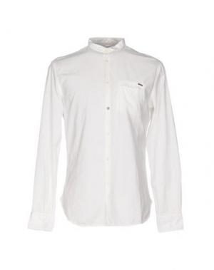 Pубашка RA-RE. Цвет: белый