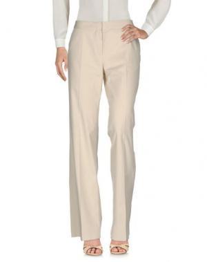 Повседневные брюки ANTONIO FUSCO. Цвет: бежевый