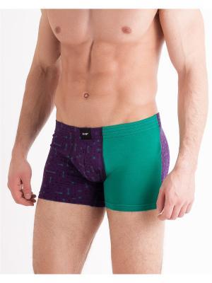 Трусы Mark Formelle. Цвет: черный,зеленый,фиолетовый