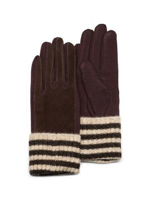 Перчатки Mellizos. Цвет: коричневый