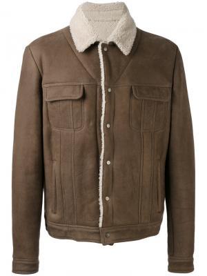 Куртка с накладными карманами Salvatore Santoro. Цвет: серый