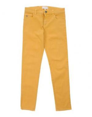 Джинсовые брюки GUCCI. Цвет: желтый