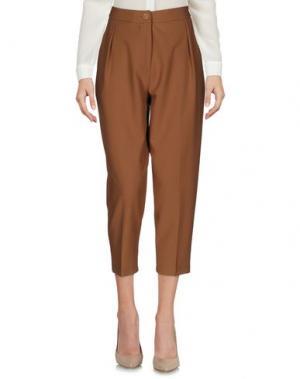 Повседневные брюки BERNA. Цвет: коричневый