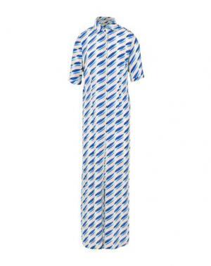 Длинное платье BARBA Napoli. Цвет: бежевый
