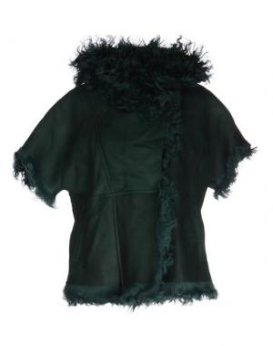 Куртка VINTAGE DE LUXE. Цвет: изумрудно-зеленый