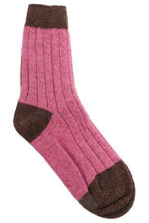 Носки HOWLIN BY MORRISON HOWLIN'. Цвет: розовый, коричневый