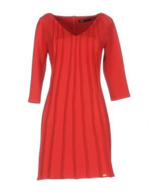 Короткое платье SOOZ by ISABEL C.. Цвет: кирпично-красный