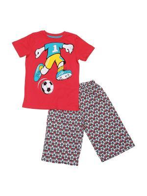 Комплект одежды SOFT SECRET. Цвет: коралловый