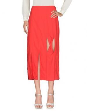 Длинная юбка OPENING CEREMONY. Цвет: красный