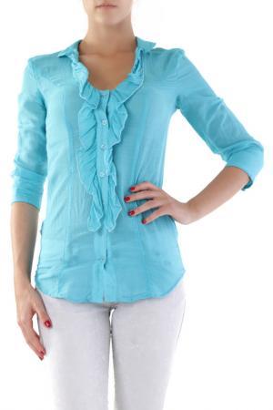 Рубашка Sexy Woman. Цвет: turquoise
