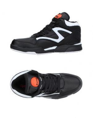 Высокие кеды и кроссовки REEBOK. Цвет: черный