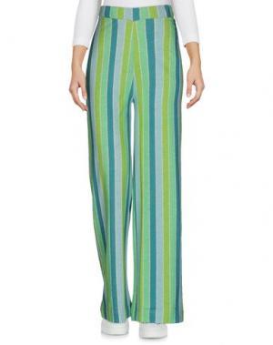 Повседневные брюки AGATHA RUIZ DE LA PRADA. Цвет: зеленый