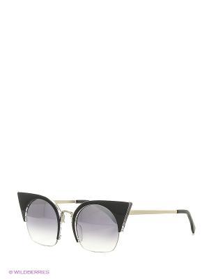 Солнцезащитные очки Vita pelle. Цвет: черный