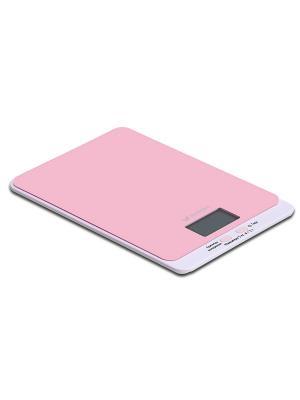 Весы кухонные КТ-803-2 розовые Kitfort. Цвет: розовый