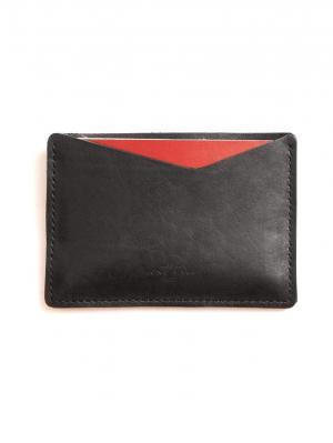 Чехол для паспорта - коричневый арт. PK/010 Long River. Цвет: черный