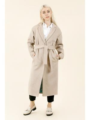 Пальто-халат (унесенные ветром) MONOROOM. Цвет: бежевый