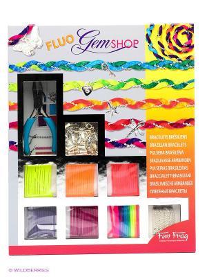 Набор для творчества Бразильские браслеты Флуо SENTOSPHERE. Цвет: оранжевый, серый