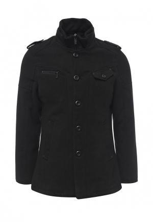 Пальто Justboy. Цвет: черный