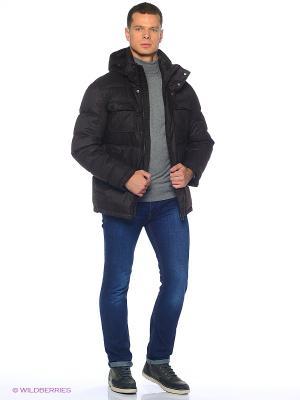Куртка Grishko. Цвет: серо-коричневый