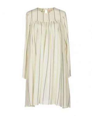 Короткое платье AMERICAN VINTAGE. Цвет: желтый