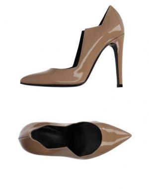 Туфли CHARLINE DE LUCA. Цвет: песочный