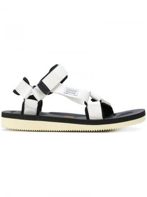 Strapped sandals Suicoke. Цвет: белый