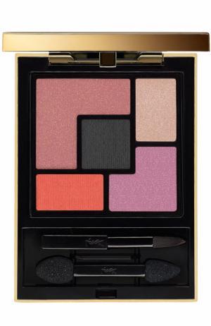 Палетка теней Couture Eye Palette Лимитированная YSL. Цвет: бесцветный