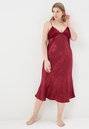 Сорочка ночная Mia-mella. Цвет: бордовый