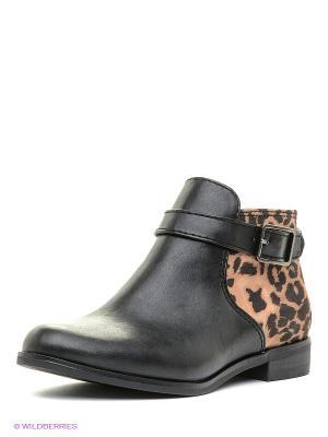 Ботинки Tamaris. Цвет: черный, бежевый