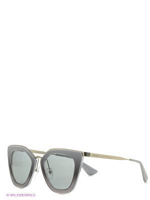 Солнцезащитные очки PRADA. Цвет: серый