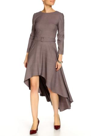 Платье MAY be by Nastya Sergeeva. Цвет: грязно-розовый