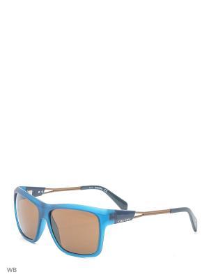 Солнцезащитные очки DL 0091 91E Diesel. Цвет: синий