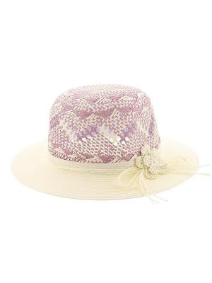 Шляпа R.Mountain. Цвет: коричневый, бежевый