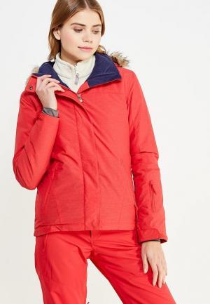 Куртка горнолыжная Roxy. Цвет: красный