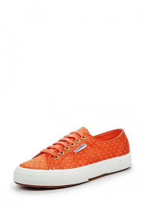 Кеды Superga. Цвет: оранжевый