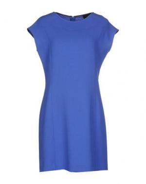 Короткое платье MALAICA. Цвет: синий