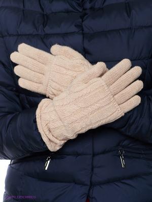 Перчатки FOMAS. Цвет: бежевый