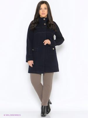 Пальто ARBOR VITAE. Цвет: темно-синий
