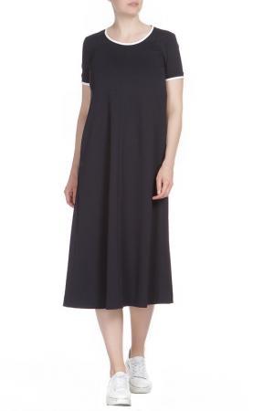 Платье Liviana Conti. Цвет: темно-синий