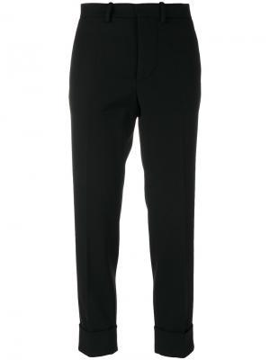 Укороченные брюки Marni. Цвет: чёрный