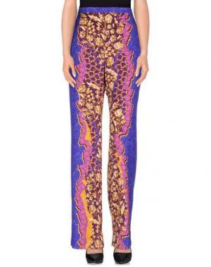 Повседневные брюки PETER PILOTTO. Цвет: темно-фиолетовый