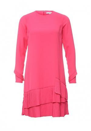 Платье Warehouse. Цвет: розовый