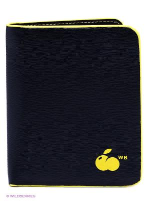 Кошелек WB. Цвет: желтый, черный