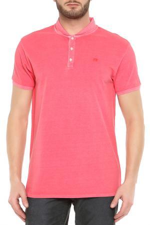 Рубашка-поло Scotch&Soda. Цвет: розовый