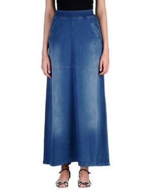 Длинная юбка ED 2.0. Цвет: синий