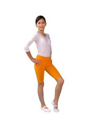 Шорты ALIERA. Цвет: оранжевый