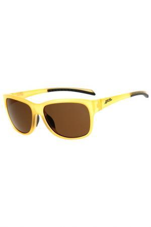 Солнцезащитные очки Red Bull. Цвет: желтый