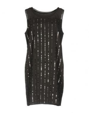 Короткое платье DIXIE. Цвет: стальной серый
