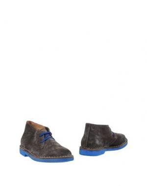 Полусапоги и высокие ботинки WALLY WALKER. Цвет: свинцово-серый